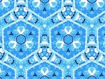 Blauw Patroon Stock Fotografie
