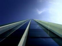 Blauw perspectief Stock Foto's