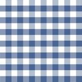 Blauw plaidpatroon royalty-vrije illustratie