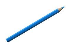 Blauw potlood Stock Afbeeldingen