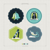 Blauw, raad die, pensionair, het inschepen, oefening, uiterste, pret, vlieger, kiteboard, kitesail, kitesurf, het kiting, meer, p Stock Afbeelding