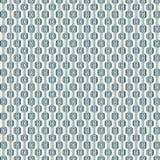 Blauw Retro Patroon Royalty-vrije Stock Afbeelding