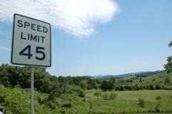 Blauw Ridge Appalachia Stock Foto's