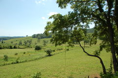 Blauw Ridge Appalachia Royalty-vrije Stock Afbeeldingen