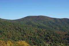 Blauw Ridge Mountains - Horizonaandrijving Stock Afbeelding