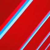 blauw rood abstract metaal in englan het traliewerkstaal van Londen en backg Stock Fotografie