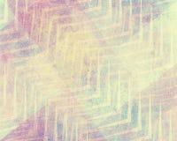 Blauw roze en wit ontwerp als achtergrond met chevronstreep gelaagd patroon Royalty-vrije Stock Foto