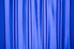 Blauw satijn herhaald strepenpatroon stock afbeeldingen