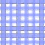 Blauw Schots patroon Stock Foto