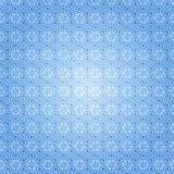 Blauw sneeuwpatroon Royalty-vrije Stock Afbeelding