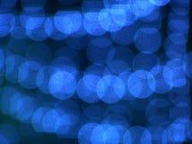 Blauw spinneweb Royalty-vrije Stock Afbeeldingen