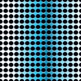 Blauw staal, naadloos patroon Royalty-vrije Stock Afbeelding