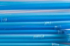Blauw Stro Royalty-vrije Stock Foto