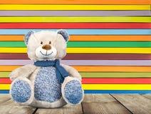 Blauw stuk speelgoed Stock Fotografie