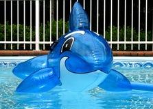 Blauw stuk speelgoed Stock Foto