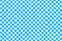 Blauw tafelkleed diagonaal naadloos patroon als achtergrond Stock Afbeeldingen