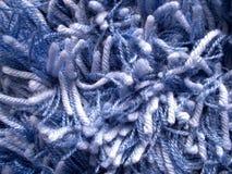 Blauw tapijt stock fotografie