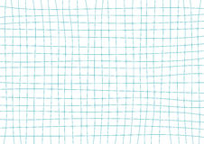 Blauw Teal Grid White Background Royalty-vrije Stock Afbeelding