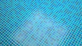 Blauw tegels convergerend perspectief als achtergrond stock illustratie