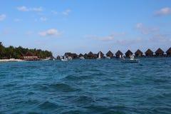 Blauw Thulhagiri-eiland Stock Foto's