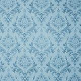 Blauw uitstekend behang Royalty-vrije Stock Foto
