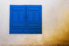 Blauw Venster stock afbeeldingen