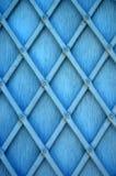 Blauw vensterblind Stock Fotografie