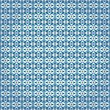 Blauw verpakkend document Stock Afbeelding