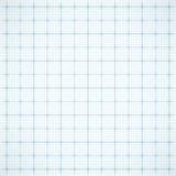 Blauw vierkant net op witte achtergrond Stock Afbeeldingen