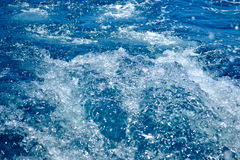 Blauw water royalty-vrije stock foto