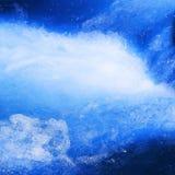 Blauw water Stock Afbeeldingen