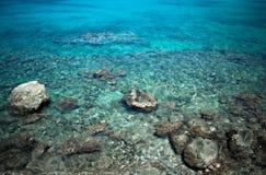 Blauw Water Stock Foto