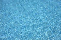 Blauw water Stock Fotografie