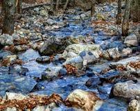 Blauw water Royalty-vrije Stock Foto's