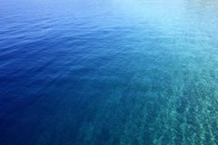 Blauw water stock foto's