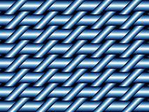 Blauw weefsel Stock Foto