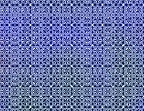 Blauw Wit Geometrisch behang Als achtergrond Royalty-vrije Stock Afbeelding