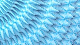 Blauw-wit patroon Royalty-vrije Stock Foto