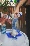Blauw zand Royalty-vrije Stock Fotografie