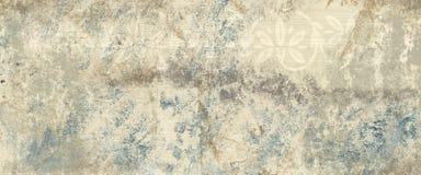 Blauw zand met plonsen van gouden zand Stock Afbeeldingen