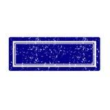 Blauw zegelvierkant Royalty-vrije Stock Foto