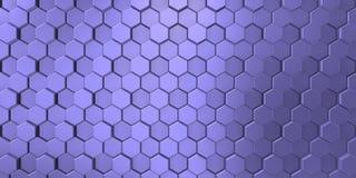 Blauwachtige kleur op decoratieve oppervlakteachtergrond in verschillende niveaus, met schaduwen stock illustratie