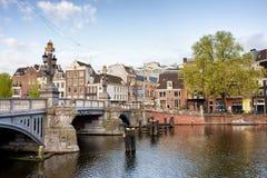 Blauwbrug in Amsterdam Stock Photography