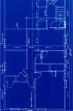 Blauwdruk Royalty-vrije Stock Afbeeldingen