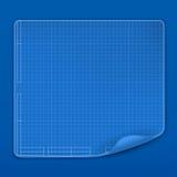 Blauwdruk vector illustratie