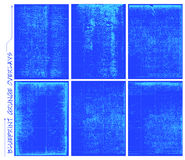 Blauwdruk grunge Royalty-vrije Stock Afbeelding