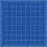 Blauwdrukachtergrond Stock Foto's