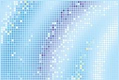 Blauwe aantrekkingskrachtachtergrond Royalty-vrije Stock Afbeelding
