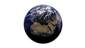 Blauwe Aarde Stock Foto