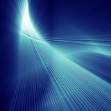 Blauwe abstarct glanst achtergrond Stock Foto's